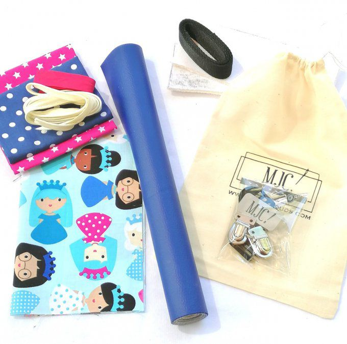 Kit à coudre cartable LUCKY n°14