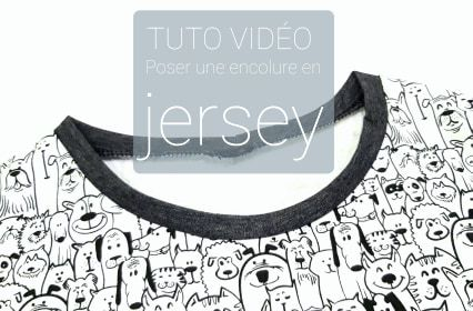tuto couture encolure jersey